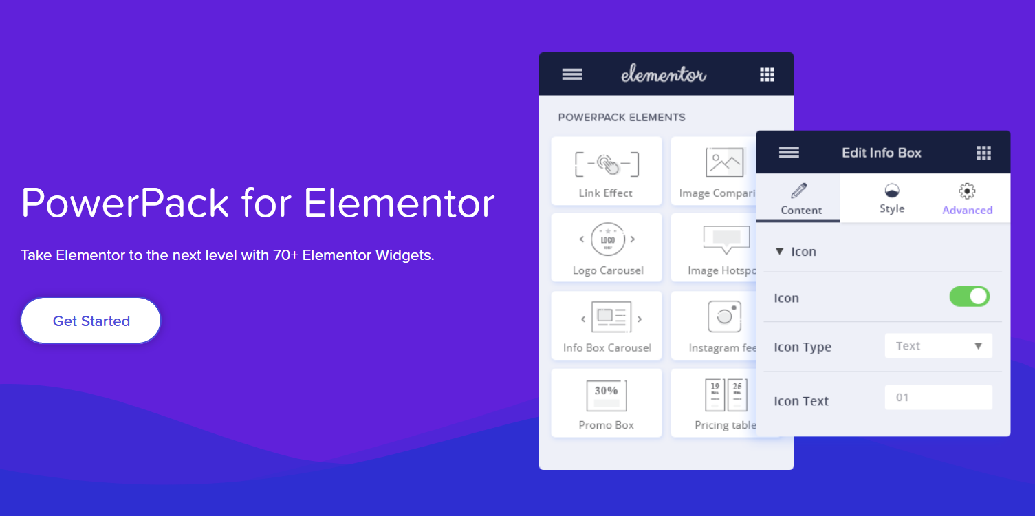 PowerPack Elements - Custom Widgets for Elementor Plugin